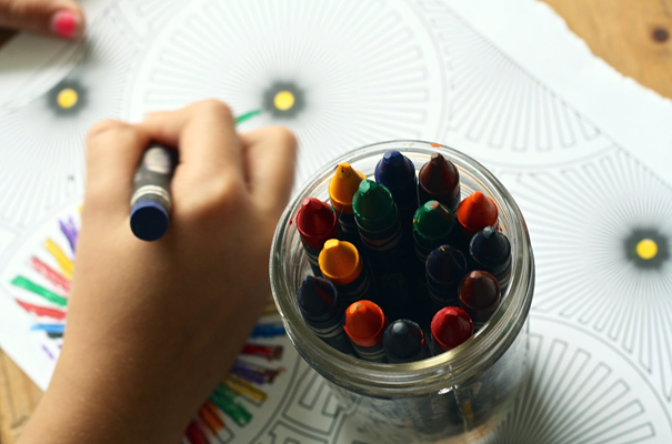 Find a creative activity that follows your child's interests.